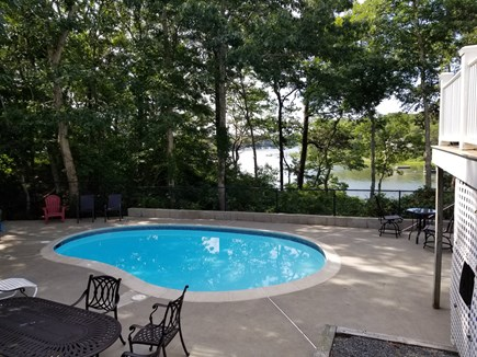 Mashpee, New Seabury area Cape Cod vacation rental - Beautiful pool over looking water in secluded setting