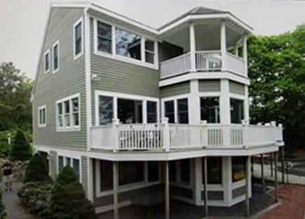 Mashpee, New Seabury area Cape Cod vacation rental - Back side view of home