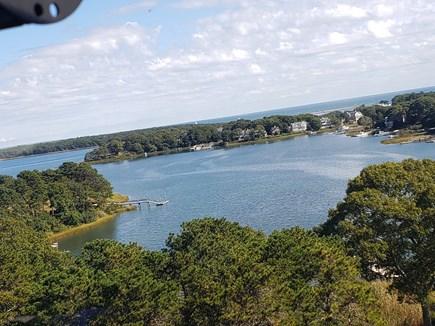 New Seabury area Cape Cod vacation rental - Bird's eye view of both Poppy/Ockway Bays and Nantucket Sound