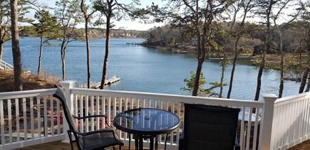 New Seabury area Cape Cod vacation rental - Back deck view of Ockway Bay