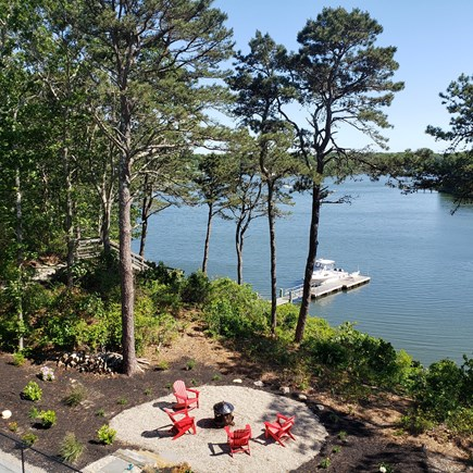 New Seabury area Cape Cod vacation rental - View from  2nd 'master bedroom'
