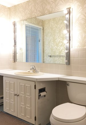 East Orleans Cape Cod vacation rental - Guest Bathroom, w/ Tile Shower -  1st Floor