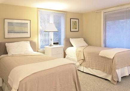 East Orleans Cape Cod vacation rental - Guest Bedroom (2nd Floor), Twin Beds & En-Suite Bathroom.