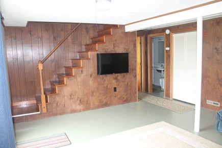 Wellfleet Cape Cod vacation rental - TV in Finished basement