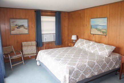 Wellfleet Cape Cod vacation rental - Main level bedroom with king bed