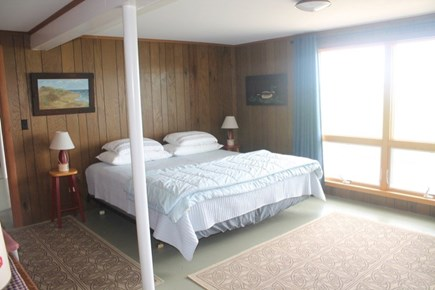 Wellfleet Cape Cod vacation rental - Basement level bedroom with king bed