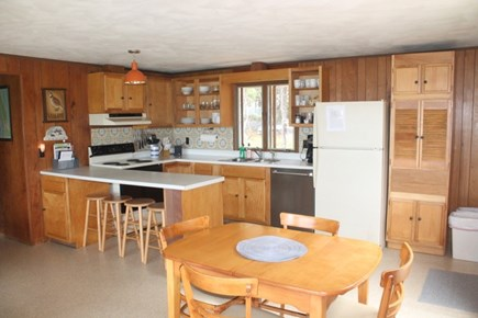 Wellfleet Cape Cod vacation rental - Kitchen/Dining Area