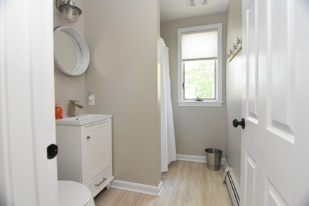 Harwich Port Cape Cod vacation rental - Updated downstairs bathroom with shower