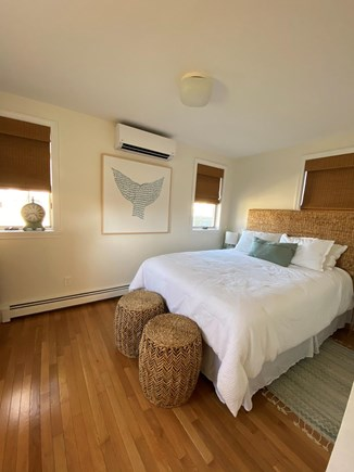 Harwich Port Cape Cod vacation rental - The first floor bedroom is beautifully updated with a queen bed