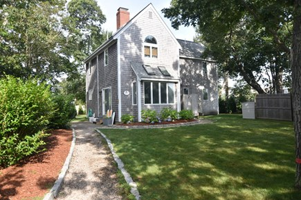 Harwich Port Cape Cod vacation rental - Spacious yard, patio w/grill & outdoor shower