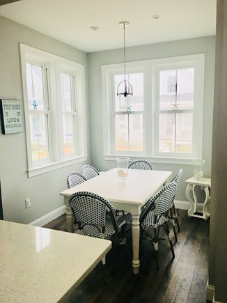 Dennis Port Cape Cod vacation rental - Dining nook