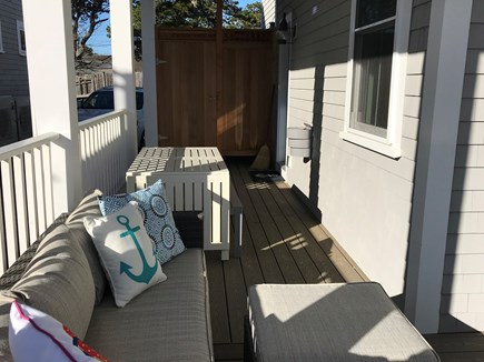 Dennis Port Cape Cod vacation rental - Farmers porch