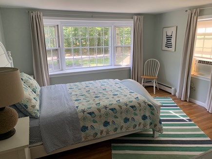 Hyannis Cape Cod vacation rental - Cheery master bedroom now with central a/c