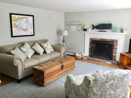 Hyannis Cape Cod vacation rental - Spacious living room, central a/c