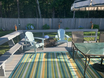 Hyannis Cape Cod vacation rental - Beautiful outdoor space, fun summer nights, grilling on the deck