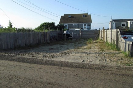 West Dennis Cape Cod vacation rental - Extra parking area.