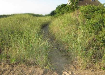 West Dennis Cape Cod vacation rental - Path to beach just over the dunes