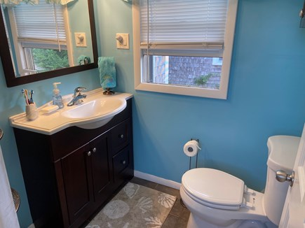 West Dennis Cape Cod vacation rental - Bathroom with shower