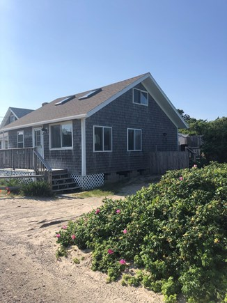 West Dennis Cape Cod vacation rental - Side view of cottage