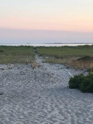 North Truro Cape Cod vacation rental - Path to the private beach