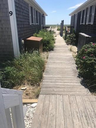 North Truro Cape Cod vacation rental - Beach boardwalk