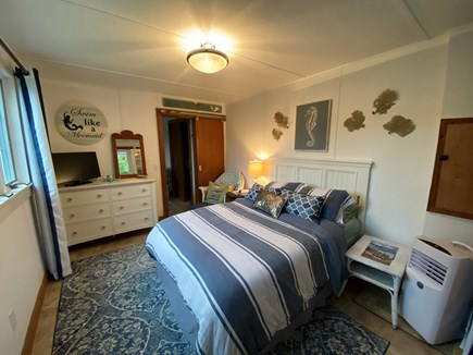 Dennis Cape Cod vacation rental - Main Level Guest Suite Full Size Bed and Bath Separate Entry