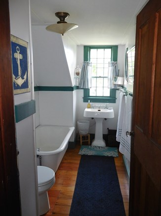 Dennis Cape Cod vacation rental - Upper Level Bath with Soaking Tub
