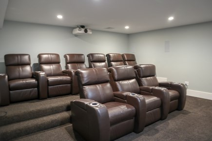 Brewster Cape Cod vacation rental - Home theater is a big plus