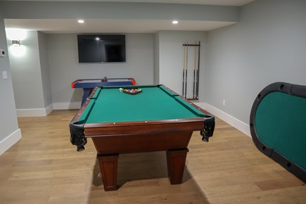 Brewster Cape Cod vacation rental - Shoot some pool, fire up one of several TVs