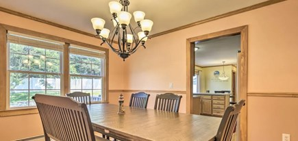 Onset MA vacation rental - Dining room, table seats 8