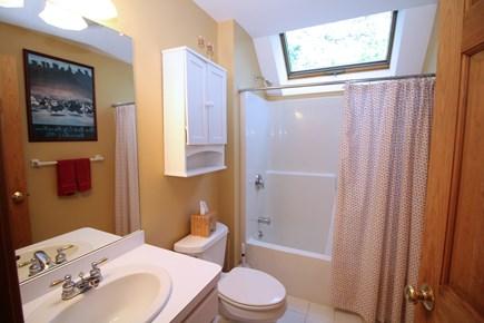 Wellfleet Cape Cod vacation rental - Second floor bathroom with tub and shower