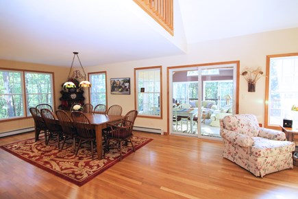 Wellfleet Cape Cod vacation rental - French doors lead to bright and comfortable sun room