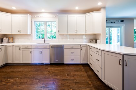 Chatham Cape Cod vacation rental - Sparkling open kitchen with stainless steel appliances