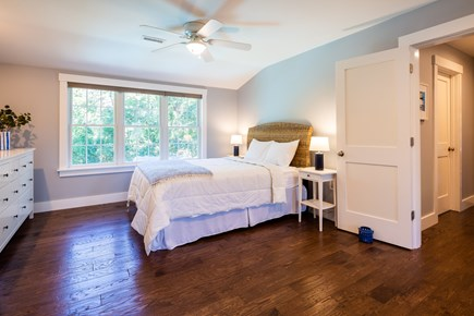 Chatham Cape Cod vacation rental - Queen bedroom 2 on second floor - opens into third upstairs BR