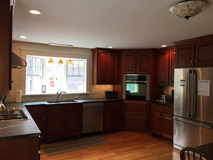 East Harwich Cape Cod vacation rental - Kitchen with gourmet appliances