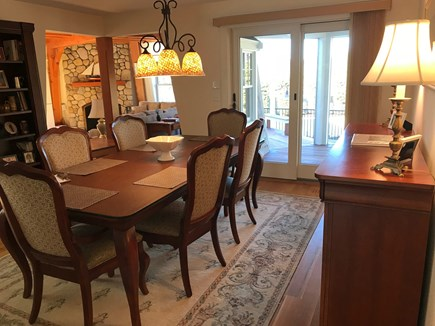 East Harwich Cape Cod vacation rental - Spacious dining room