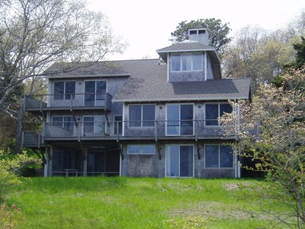Orleans Cape Cod vacation rental - Backside of house / water-facing