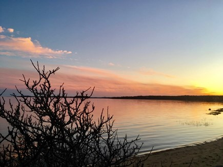 Orleans Cape Cod vacation rental - Sunset views over Little Pleasant Bay