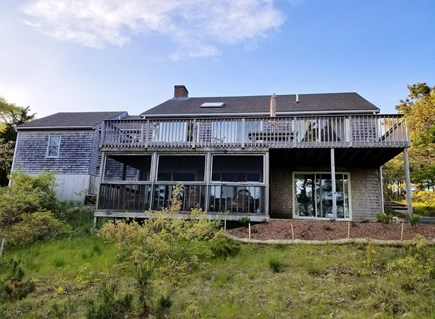 Wellfleet Cape Cod vacation rental - This spacious home has a large deck and screened-in porch
