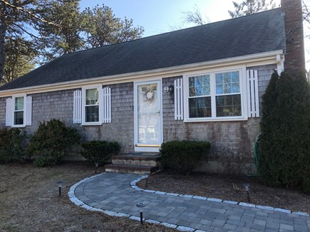 South Yarmouth Cape Cod vacation rental - Front entrance off of quiet side street 1/2 mile from beaches