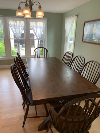 Chatham Cape Cod vacation rental - Dining table also has two extension wings to seat twelve people