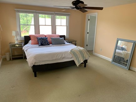 Chatham Cape Cod vacation rental - Master bedroom with crib, walk in closet, ensuite full bathroom