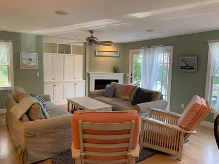 Chatham Cape Cod vacation rental - Living room with brand new furniture. Tons of entertaining space