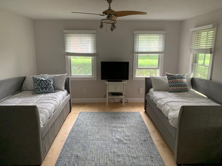 Chatham Cape Cod vacation rental - 4th bedroom/extra TV room on ground floor with full bathroom