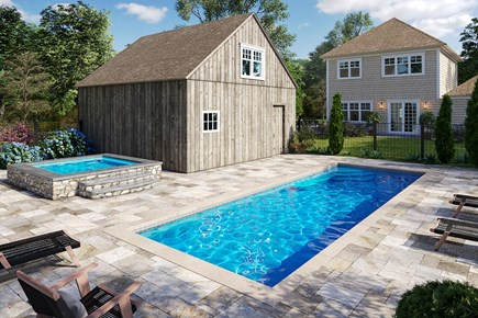 Chatham Cape Cod vacation rental - Pool and spa to be completed in the Spring of 2020