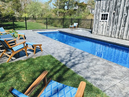 Chatham Cape Cod vacation rental - 10' x 30' pool w/ hot tub
