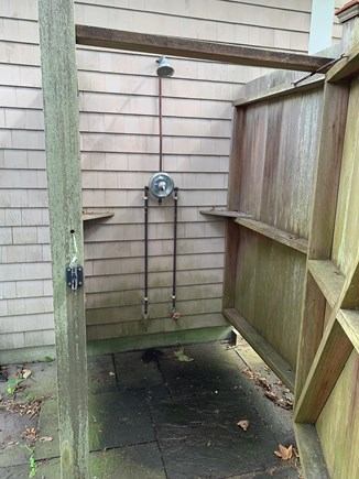 Chatham Cape Cod vacation rental - Outdoor shower when you get back from the beach