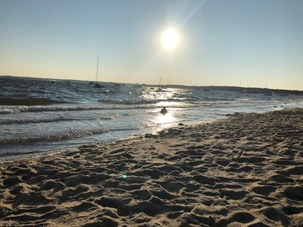 West Yarmouth Cape Cod vacation rental - Low tide - quarter-mile stretch of beach for walking or running