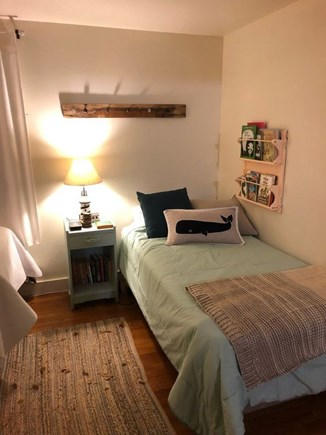 West Yarmouth Cape Cod vacation rental - Bedroom 3 - smaller twin bed with toddler rail underneath