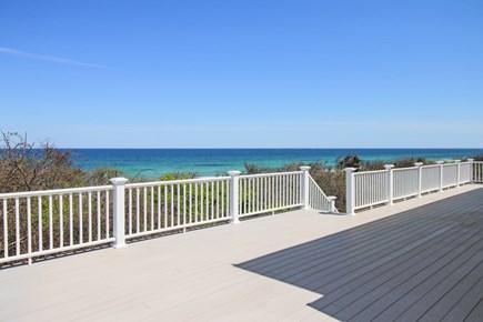Dennis Cape Cod vacation rental - Large Deck